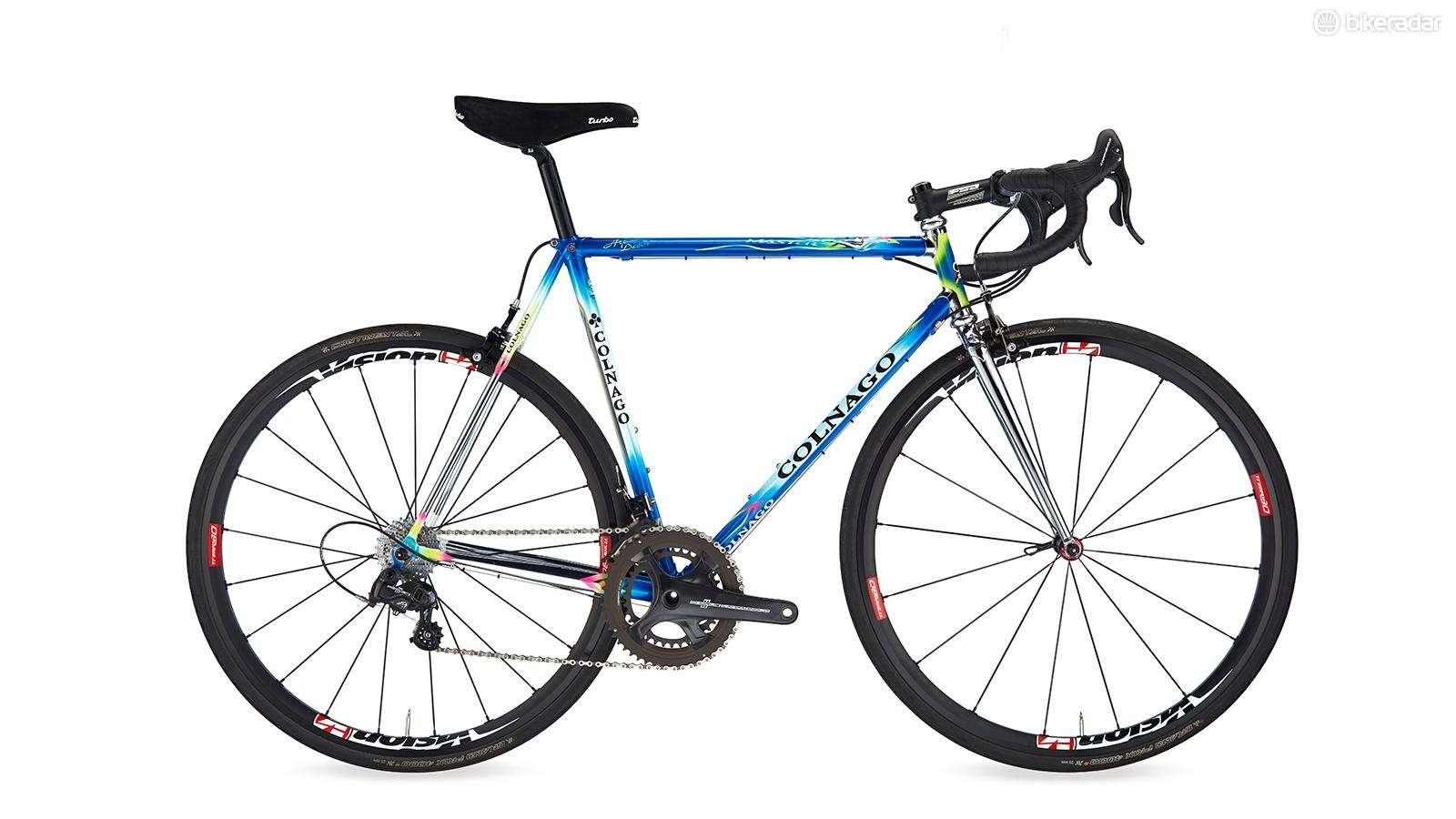 Colnago's Master X-Light isn't afraid to catch the eye, 30 years on