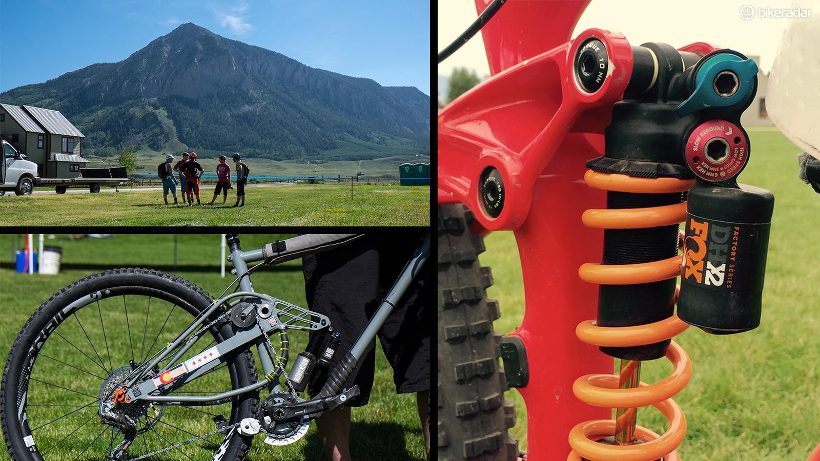 There was no shortage of new and modified equipment on display at the Enduro World Series stop in Crested Butte, Colorado