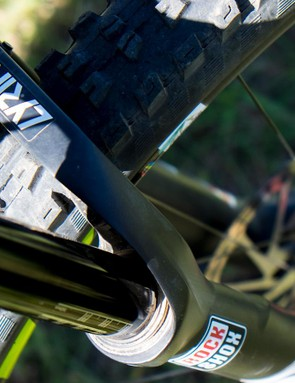 Many SRAM/RockShox-sponsored athletes traded up their Pikes for the new Lyrik