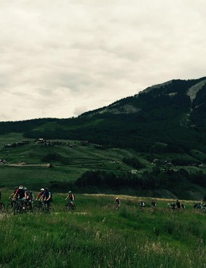 EWS series organizers cancelled the event and held a memorial ride on Sunday in honor of fallen rider Will Olsen