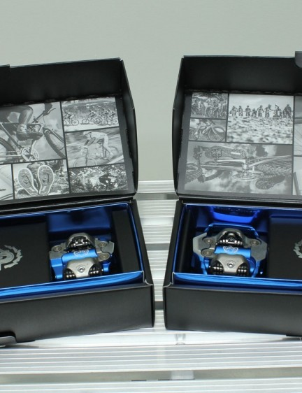 The pedals appear to include some special packaging too