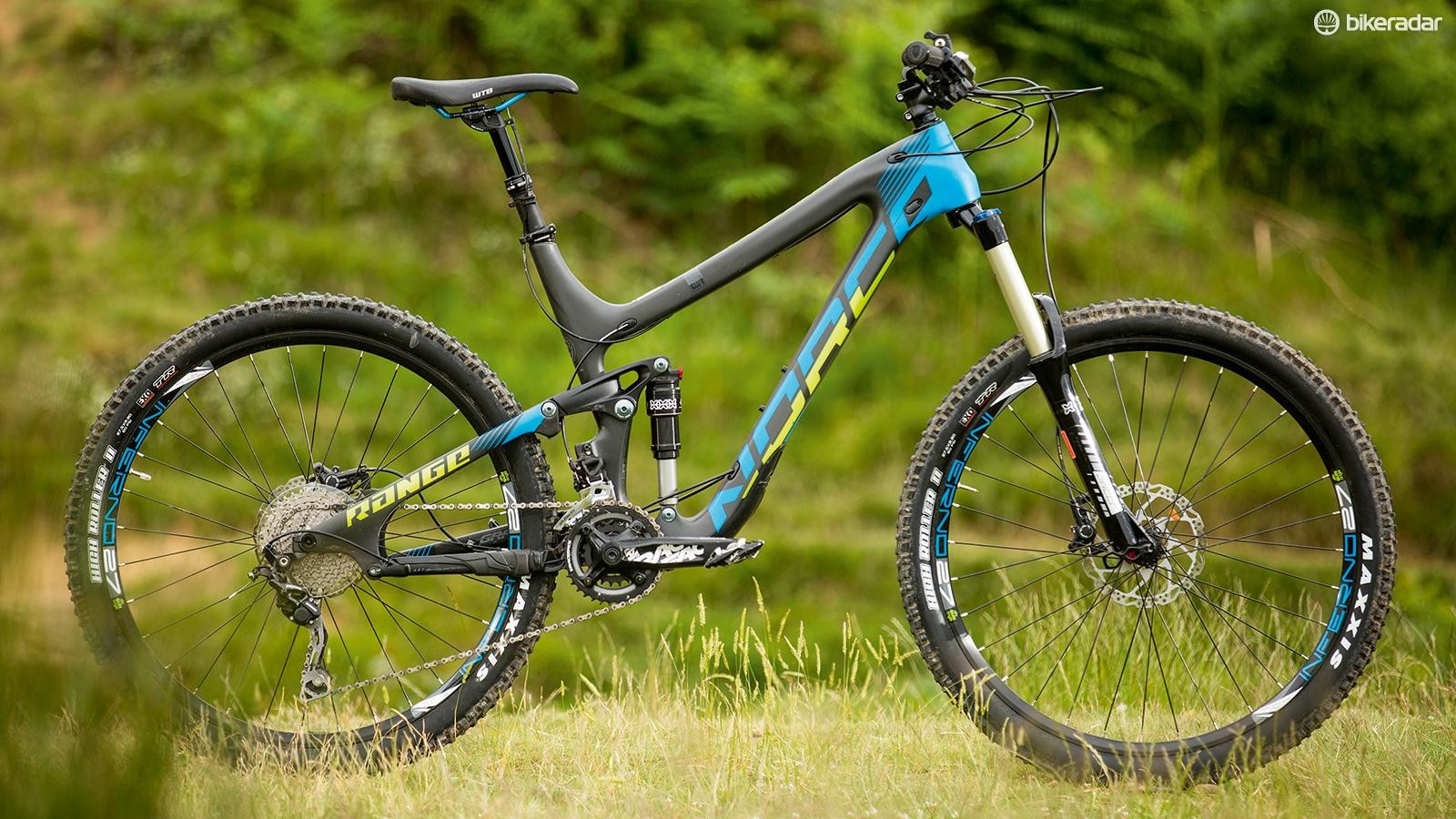 The Norco Range Carbon 7.4's chassis makes it a tempting offer on paper