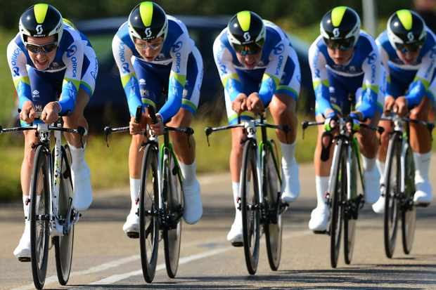 Team Time Trial is a discipline that requires each member of the team to work together like a well-oiled machine