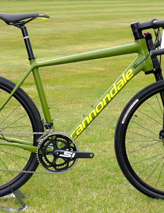 Cannondale's latest New Road category is defined by the Slate, a unique adventure bike with racy pretensions