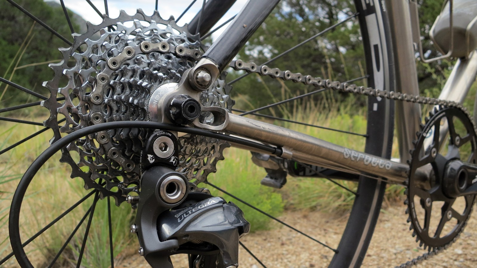 The Lindarets x Wolf Tooth Components RoadLink is aimed at the growing number of road, cyclocross, touring and gravel riders wanting a wider gear range or a simpler single-ring setup