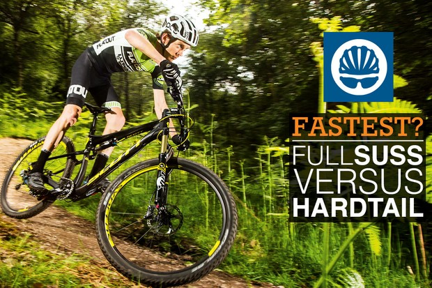 Which is faster: hardtail or full-suspension?