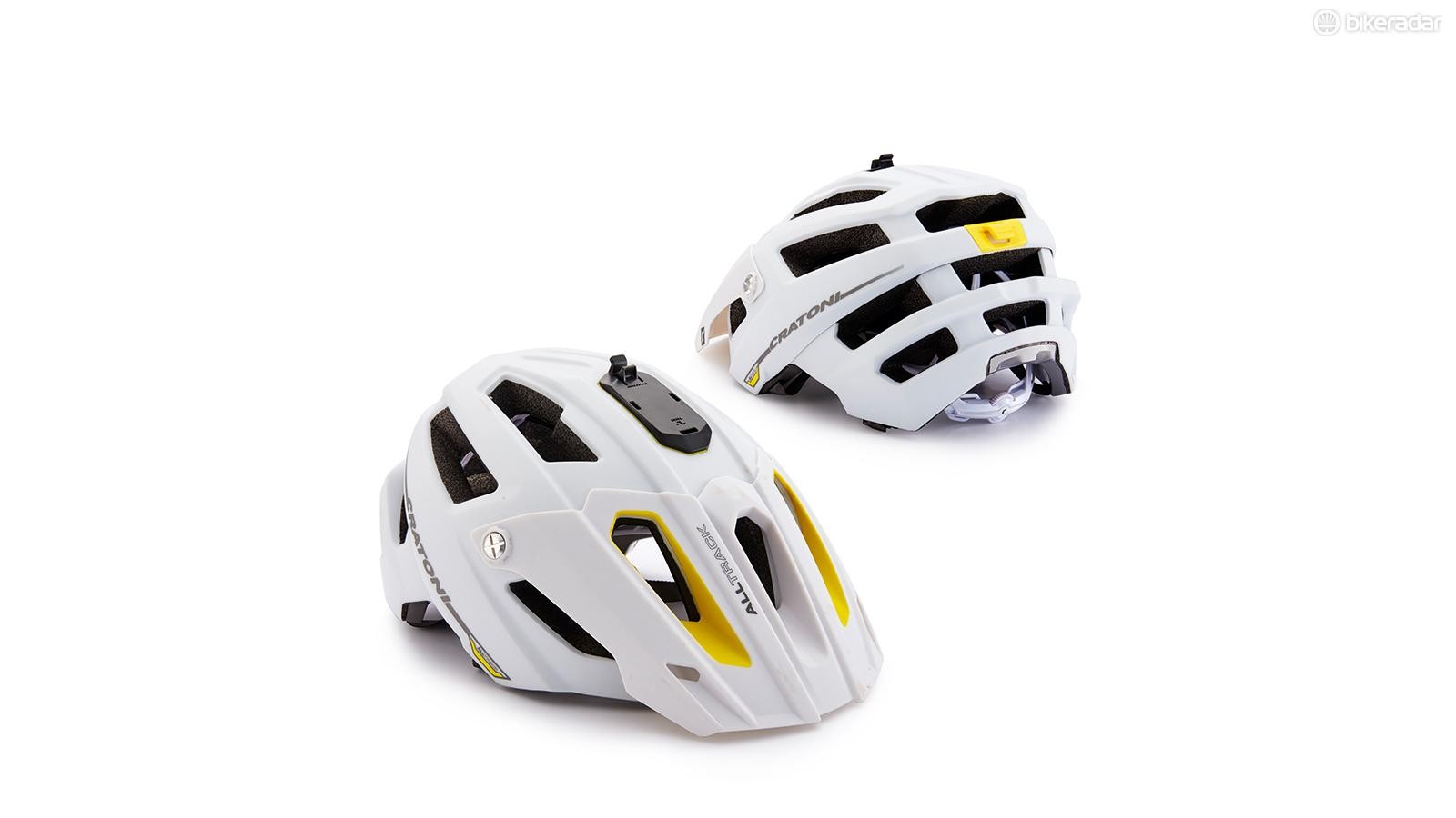 Cratoni's AllTrack helmet might not tickle everyone's fancy but it's a solid lid