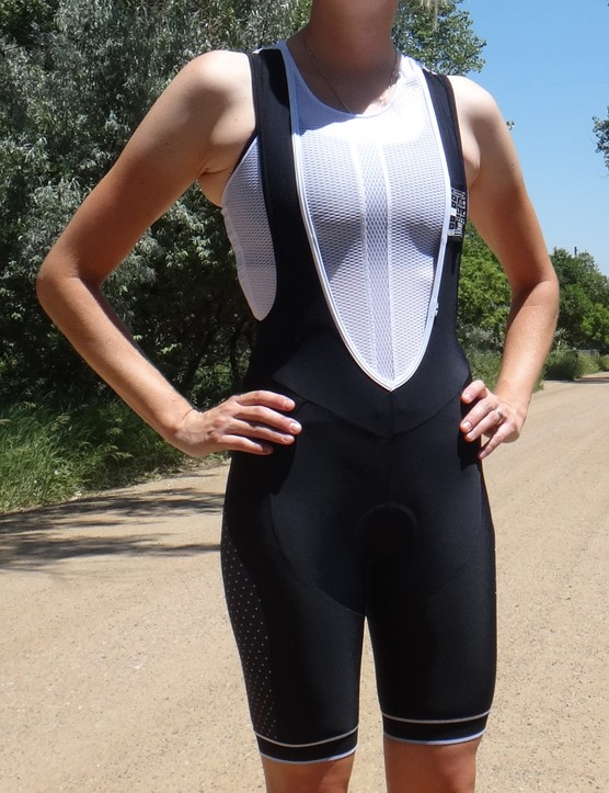 Chapeau Ladies Classic bibs are extremely soft and feel great against the skin