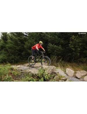 Stay loose and keep your weight over your bottom bracket