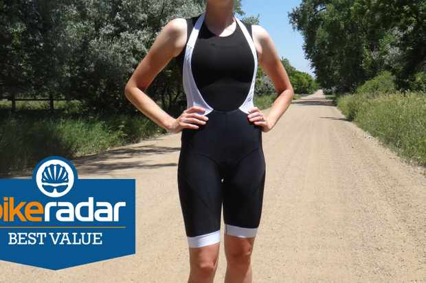 DHB Aeron Pro Halterneck Bibs took the Best Value award in our mid-range round up