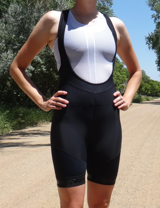 Bontrager's Race Women's bibs are comfortable and affordable.