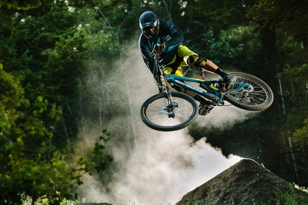 The new Rocky Mountain Maiden replaces the company's aging Flatline as its downhill race bike