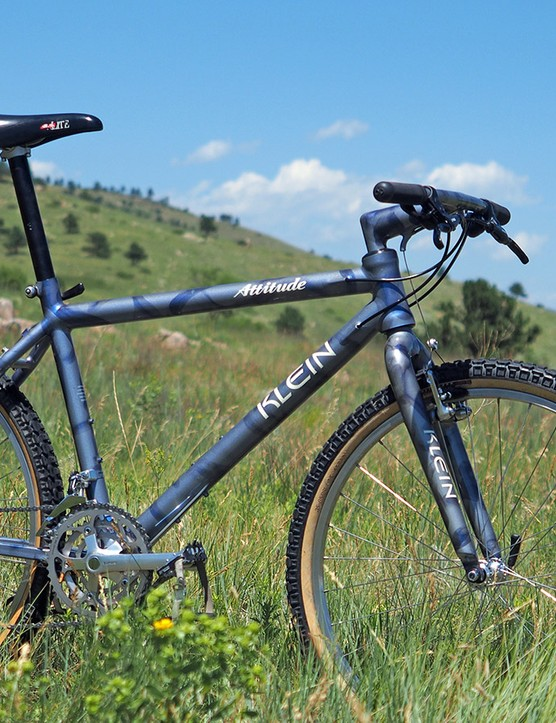 Few bikes epitomized the forward thinking of Klein's innovative alloy bicycle frames better than the early 1990s Attitude