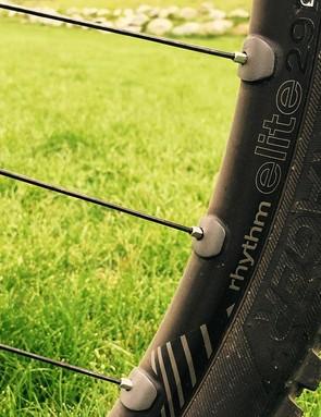 Moseley rolls on Bontrager's Rhythm Elite TLR wheelset