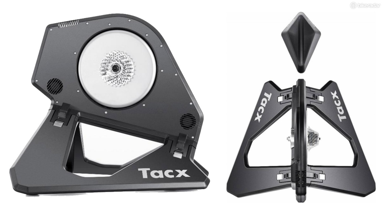 The new Tacx NEO Smart turbo trainer supposedly has futuristic guts and capabilities to match the impressive looking exterior