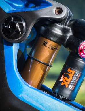 The Float X2 shock is truly pro-standard