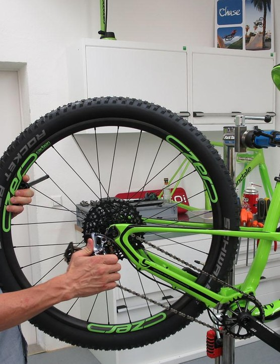 Cannondale's Murray 'the Wizard' Washburn gives the new Habit 650b a once-over