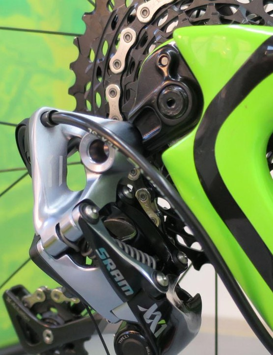 SRAM XX1 takes good care of the gearing