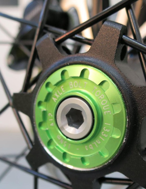 The Lefty hub locking ring