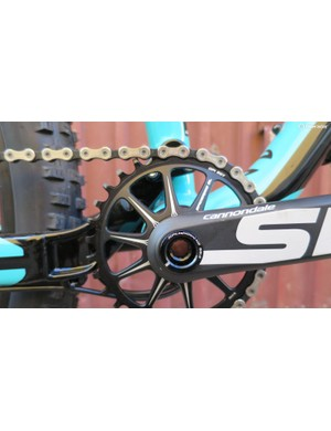 Another look at those lovely chainrings