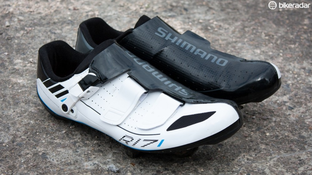 Shimano's R171 shoes are only one step away from the pro-level R321 models