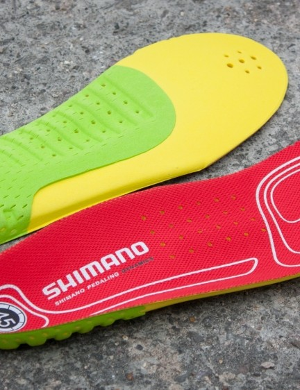 The dual-density insole gives some structured support