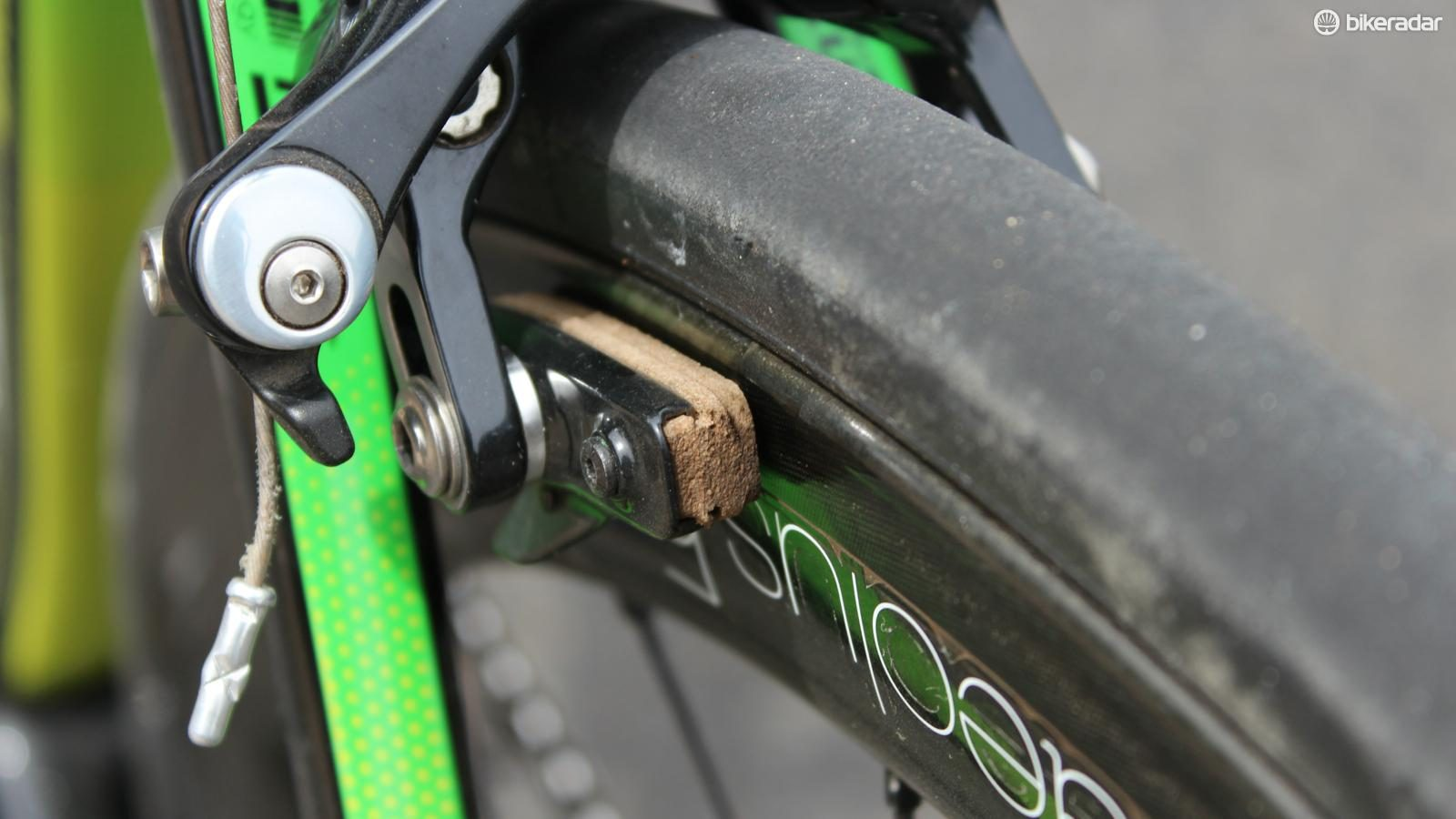 Bontrager Carbon Stop Cork Brake Pads