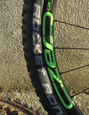Cannondale's CZero Carbon 27.5 wheelset is specced on the Habit Carbon 1