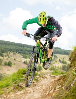 The high-quality frame is impressively stiff and solid once put to the test