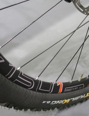 The Team runs on DT Swiss's Enduro specific EX1501 wheels
