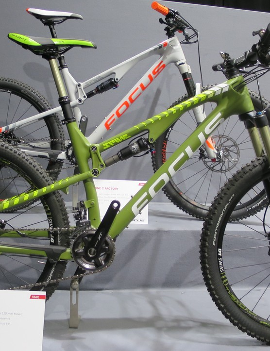 The £2899 Spine C SL, uses Fox 32's up front and a Float rear
