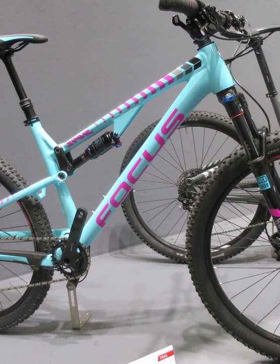 The Spine range also gets women's options this is the Evo Donna at £1999