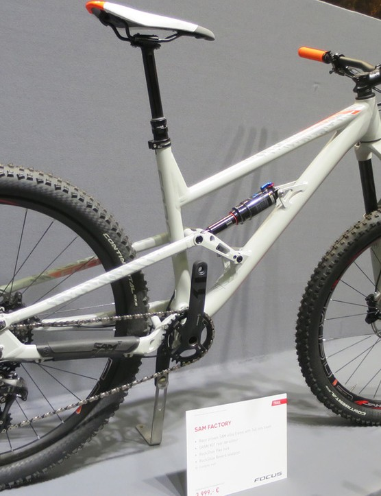The alloy SAM Factory still looks hell of a bike for the money (£2999)