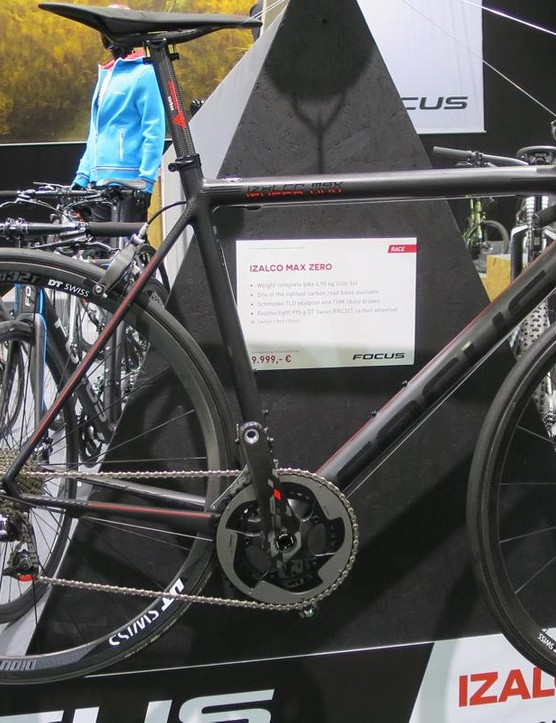 The incredibly light (10.9lb) Focus Izalco Max 0.0