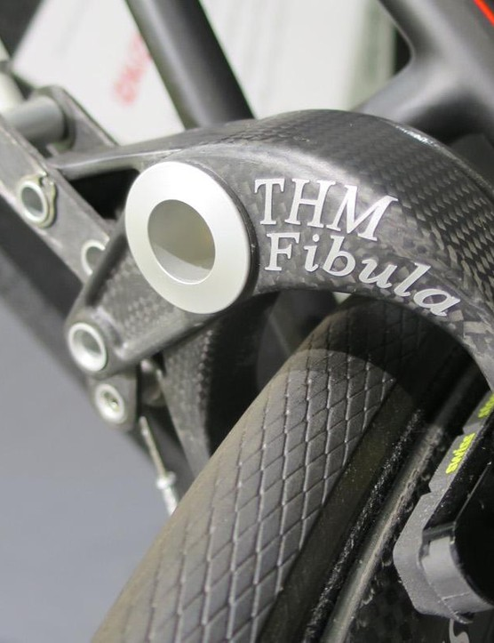 And the ultralight THM Fibula brakes make an appearance on the 0.0 too