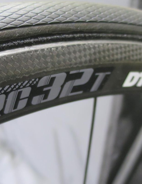 DT Swiss' new RRc 32T tubular wheels tip the scales at 995g a pair!