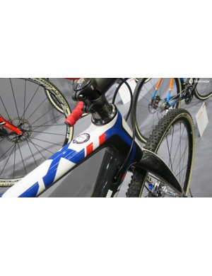 The Mares CX has pretty patriotic-looking livery for 2016