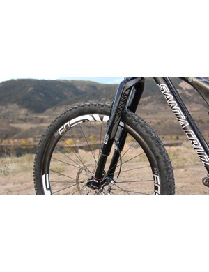 I ran the RockShox RS-1 fork. If I could do it over, I would run a Pike