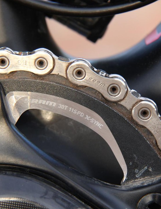 Swapping for a smaller, 30t chainring was the smartest decision I made leading up to the race