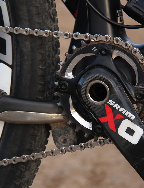 While SRAM's 1x11 groups are incredibly versatile, they require racers to carefully consider the best gearing leading up to an event with as much climbing as the Breck Epic