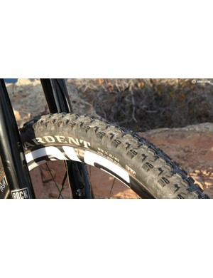 The Maxxis Ardent is a good medium-condition front tire