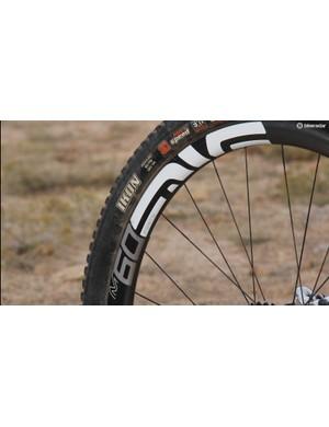 ENVE's M60 wheels are quite stiff and appreciably wide
