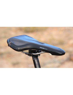 This first-generation Ergon SM3 saddle has seen me through countless endurance events