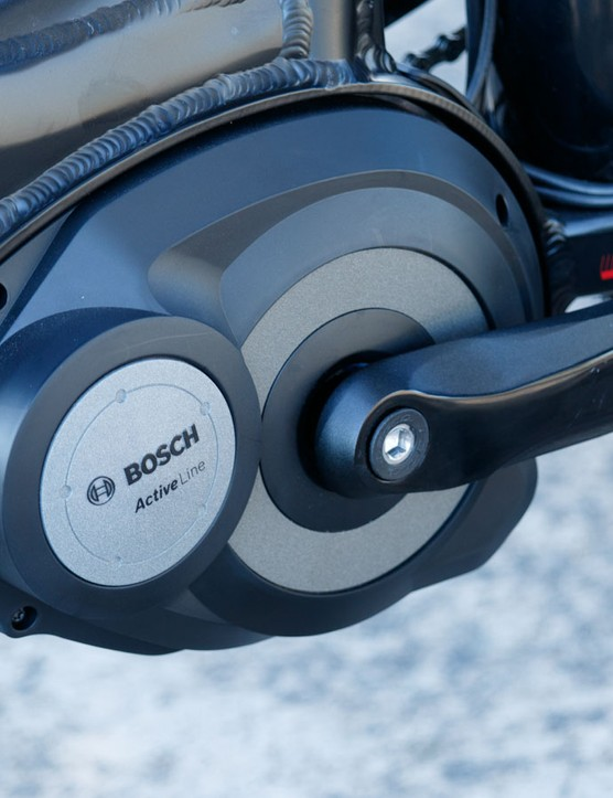 The Life Bike comes with the Bosch Active Drive unit