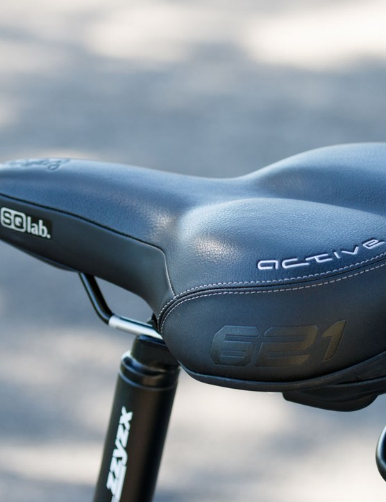 A well padded seat should help new riders smoothly transition into cycling