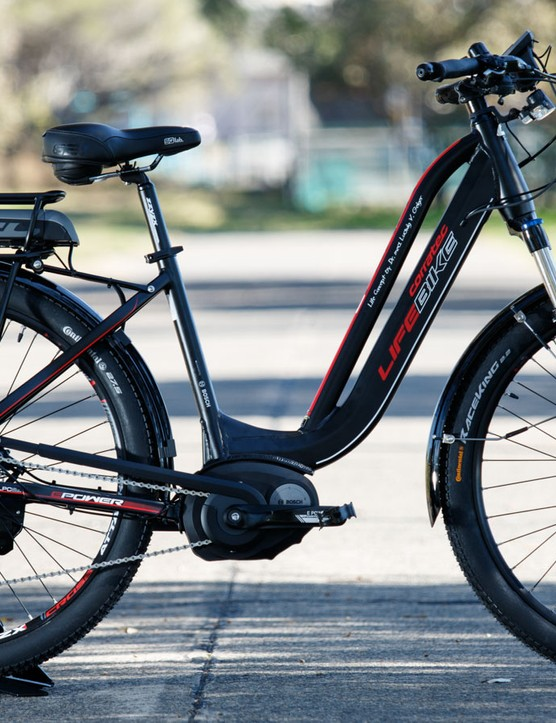 The Corratec Life Bike was designed to get those who wouldn't usually ride active again