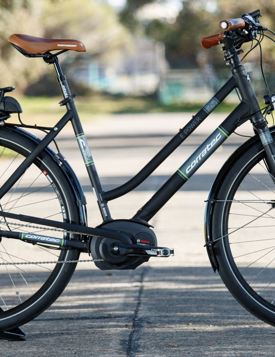 Corratec's 29er Trekking Step-Through should make for a great utility bike