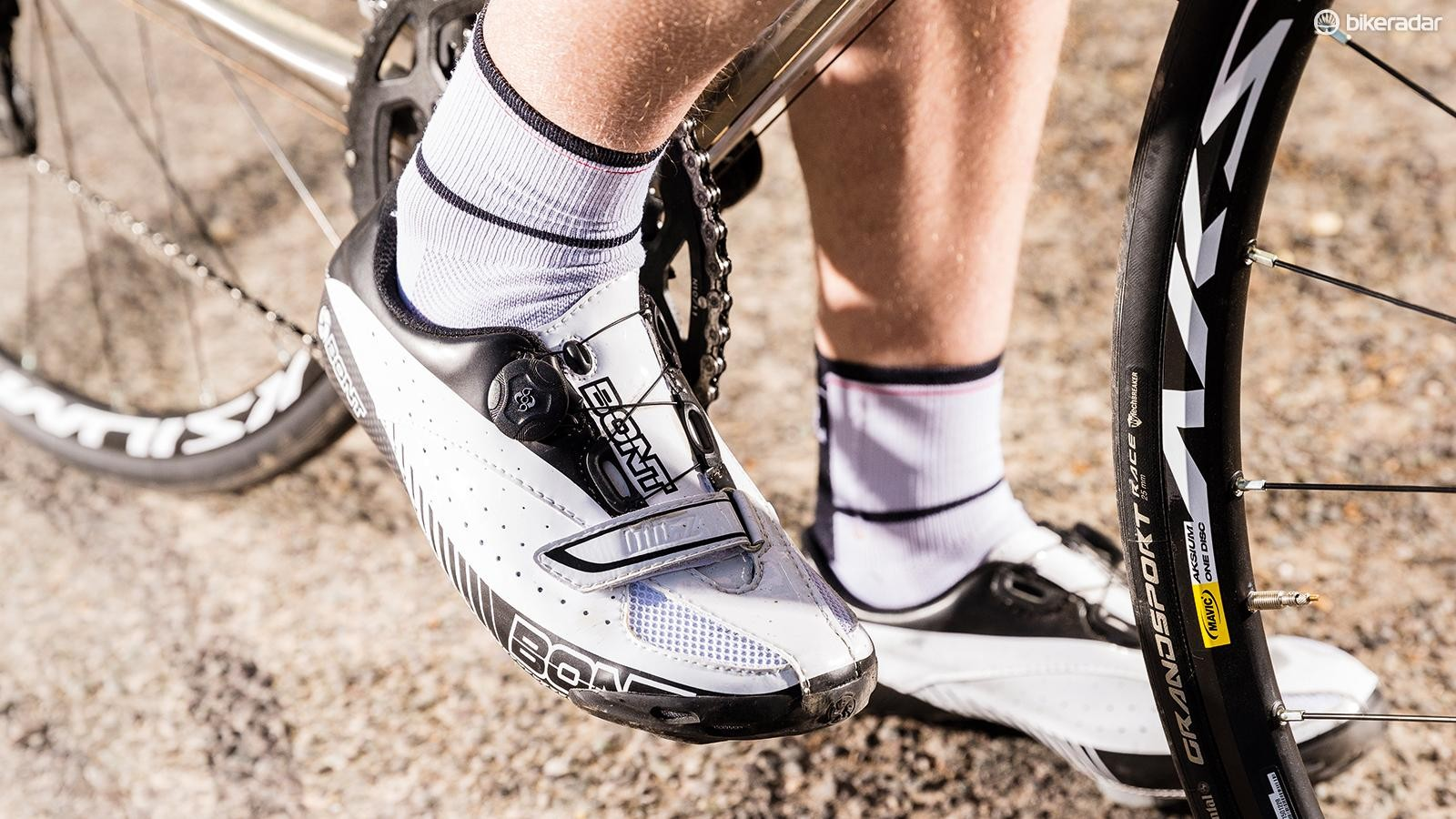 Bont's Blitz road shoes may not live up to the firm's hype, but they're damn fine kicks nonetheless