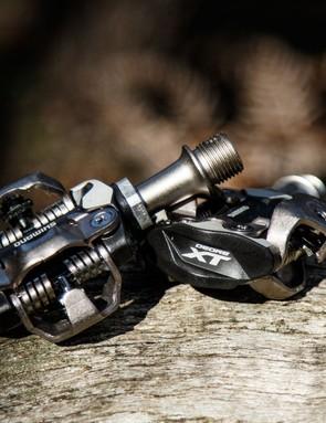 Shimano's new XT M8000 pedals receive a few updates