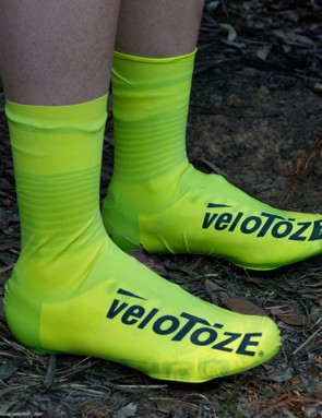 Once on, it's claimed they're completely weatherproof and rather aero, all the while being reasonably light and cheap